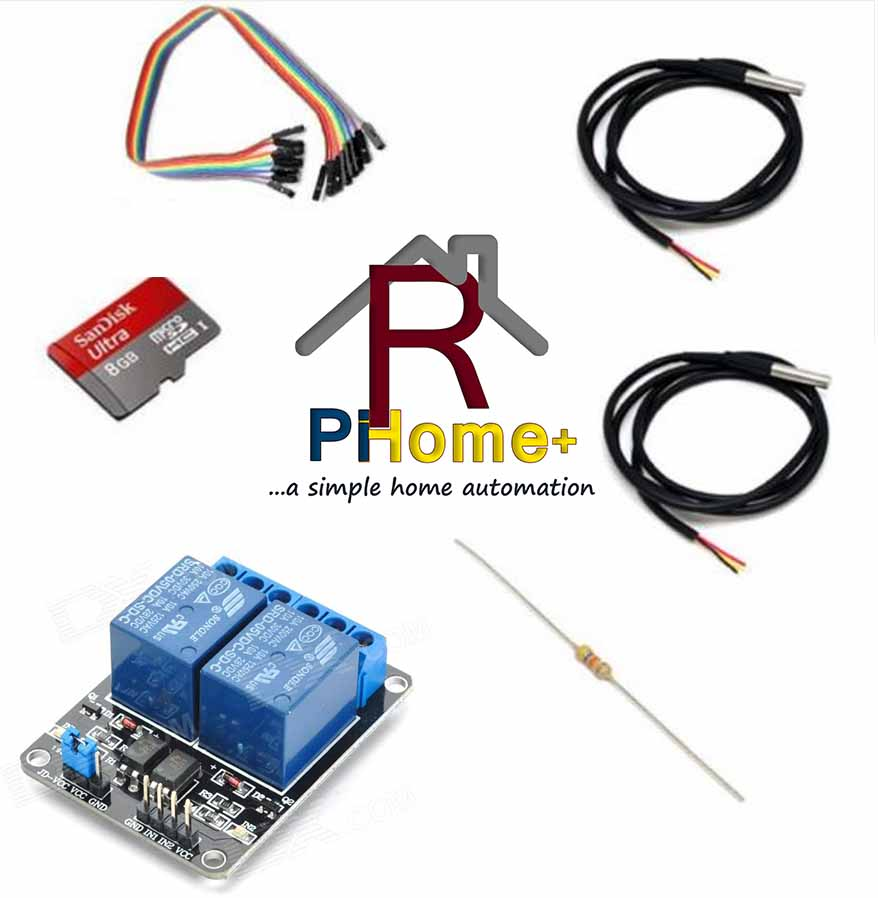Raspberry Pi Home Automation Control Heating Kit